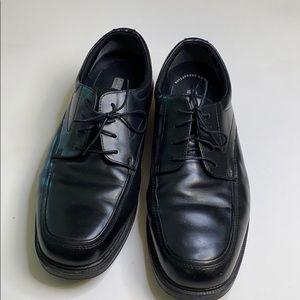 Men's nunn bush black leather loafers size 13
